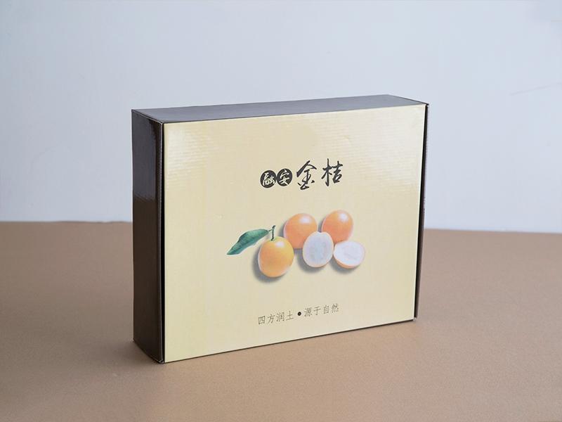 金桔纸箱包装