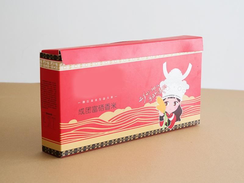 香米纸盒包装